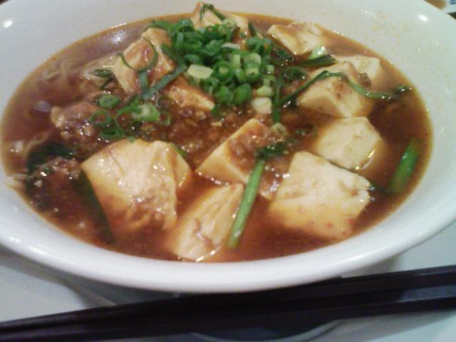 麻婆豆腐ラーメン@バーミヤン